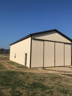 Before & After: New Pole Barn in Apple Grove, West Virginia (6)