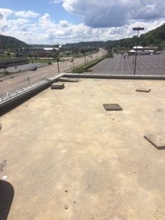 Before & During 44,000 sqft Commercial Roofing in Athens, OH (5)