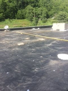 Before & During 44,000 sqft Commercial Roofing in Athens, OH (7)