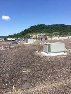 Before & During 44,000 sqft Commercial Roofing in Athens, OH (2)