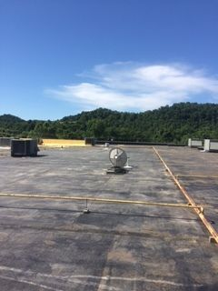 Before & During 44,000 sqft Commercial Roofing in Athens, OH (8)