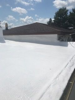 Roof Spray Foam with Coating in Jackson, OH (2)