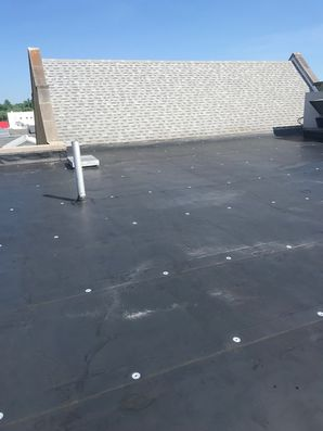 S.P.F. Foam System with Base and Top Coat at Grace United Methodist Church in Waverly, Ohio (2)