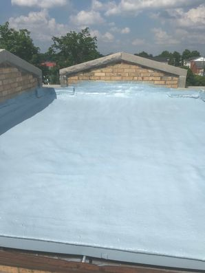 S.P.F. Foam System with Base and Top Coat at Grace United Methodist Church in Waverly, Ohio (5)