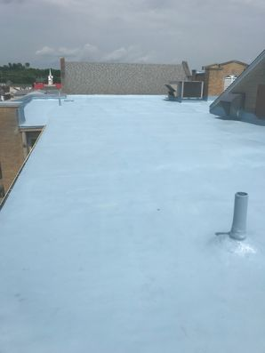 S.P.F. Foam System with Base and Top Coat at Grace United Methodist Church in Waverly, Ohio (6)