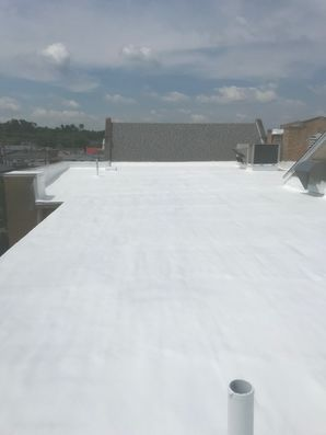 S.P.F. Foam System with Base and Top Coat at Grace United Methodist Church in Waverly, Ohio (8)