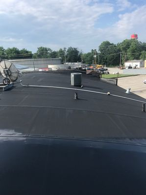 Before & After of SPF Foam Roof System in Jackson, OH (1)