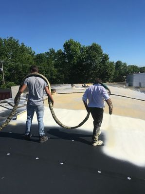 Before & After of SPF Foam Roof System in Jackson, OH (4)