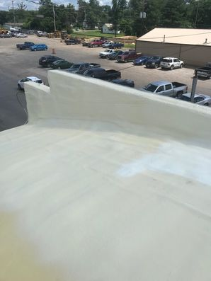 Before & After of SPF Foam Roof System in Jackson, OH (7)