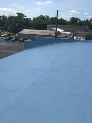 Before & After of SPF Foam Roof System in Jackson, OH (8)