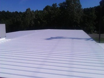 After Roof Coating in Athens, OH