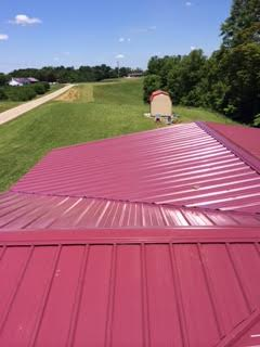 After Metal Roof Replacement in Thurman OH